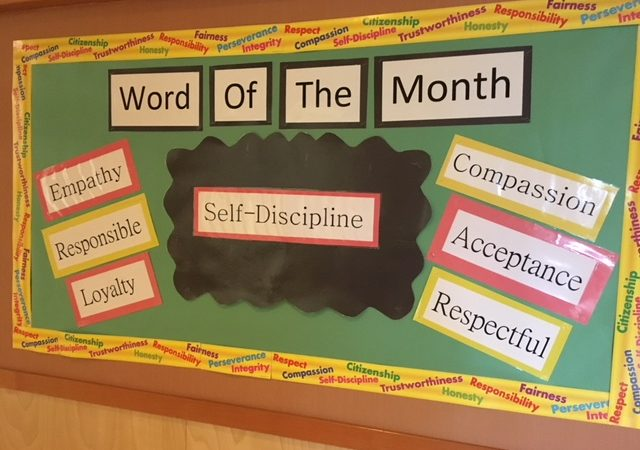 November Word of the Month – Self-Discipline