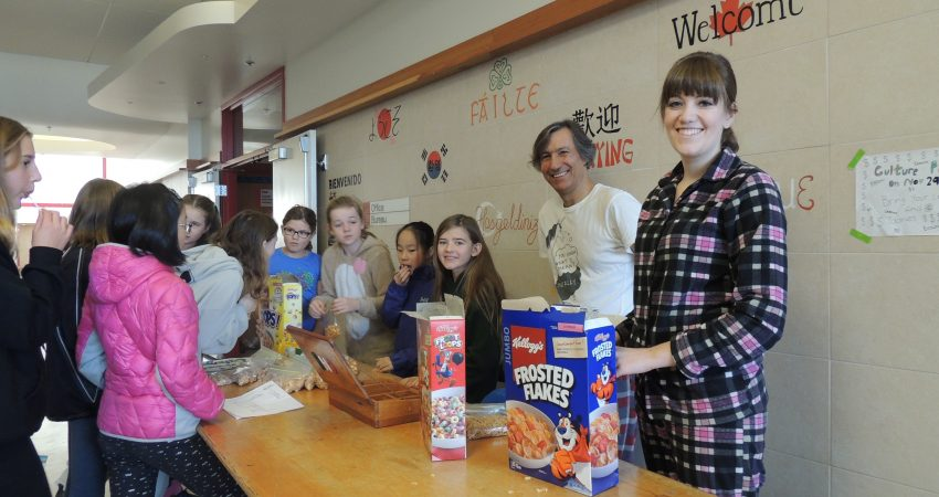 Pajama Day Breakfast – fundraiser for Me to We.