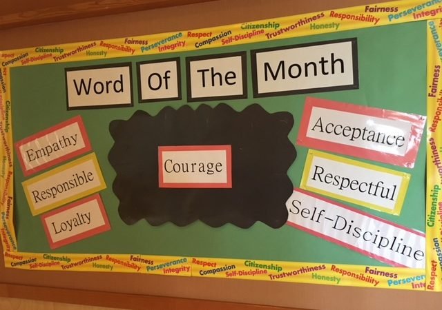 April Word of the Month – Courage