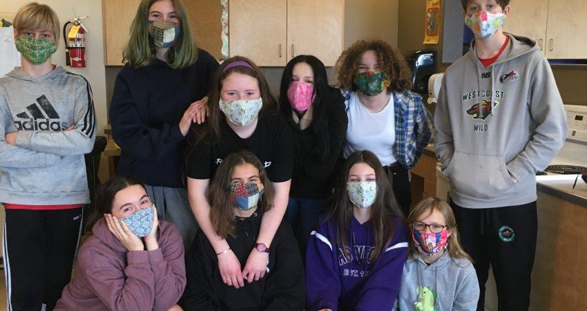 Home Ec – mask making